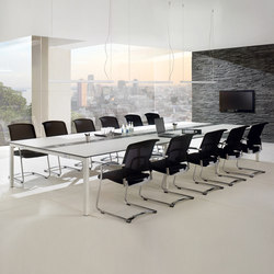 TriASS Furniture range | Conference table systems | Assmann Büromöbel