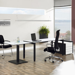 TriASS Furniture range | Contract tables | Assmann Büromöbel