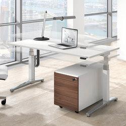 Canvaro desking programme | Individual desks | Assmann Büromöbel