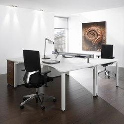 Antaro Desking programme | Sistemas de mesas | Assmann Büromöbel