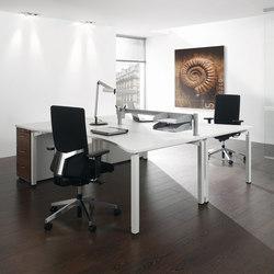 Antaro Desking programme | Systèmes de tables de bureau | Assmann Büromöbel
