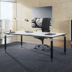 Antaro Desking programme | Individual desks | Assmann Büromöbel