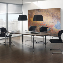 Antaro Desking programme | Meeting room tables | Assmann Büromöbel