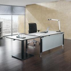 Antaro Schreibtischsystem | Einzeltische | Assmann Büromöbel