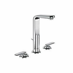 Veris Three-hole basin mixer 1/2"