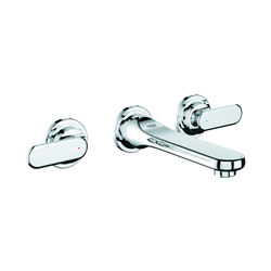 "Veris Three-hole basin mixer 1/2"" S-Size 