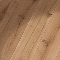 Coral OAK gold brushed | natural oil | Sols en bois | mafi