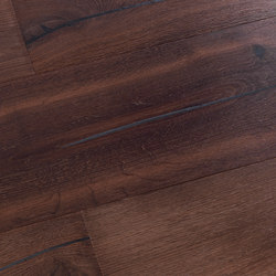 Coral OAK Vulcano black brushed | natural oil | Sols en bois | mafi