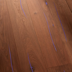 Coral OAK Vulcano Custom Colour brushed | natural oil | Planchers bois | mafi