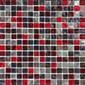 Astra Blend Rosso STRA 301 | Glass mosaics | L.I.K.E.