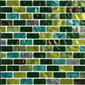 Brick Blend Verde BRK 550 | Glass mosaics | L.I.K.E.