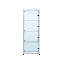 USM Haller Glass showcase 1 | Display cabinets | USM