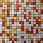 MBM301GFU Fuoco Graffiato | Metal mosaics | Metal Border Italia