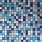 MBM301GAR Aria Graffiato | Metal mosaics | Metal Border Italia