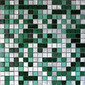 MBM301GAQ Acqua Graffiato | Mosaïques | Metal Border Italia