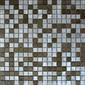 MBM301GTE Terra Graffiato | Metal mosaics | Metal Border Italia