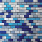 MBM305GAR Aria Graffiato | Metal mosaics | Metal Border Italia