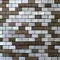 MBM305GTE Terra Graffiato | Metal mosaics | Metal Border Italia