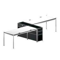 USM Haller Shared workstation 1 | Systèmes de tables de bureau | USM