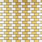 MBM305ORO Oro Satinato | Metal mosaics | Metal Border Italia