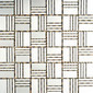 MBM310S Sam Satinato | Metal mosaics | Metal Border Italia