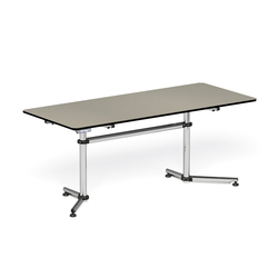 USM Kitos Linoleum | Modular conference table elements | USM