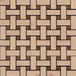 Plaited - Woodmix | Mosaicos de madera | Kuups Design International
