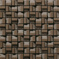 Plateau Block Brown | Ceramic mosaics | INAX Corporation