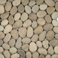 Pebbles IA-412 Tan | Natural stone mosaics | Get Stoned