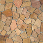 Tumbled Stone IA-405 Red Flat | Natural stone mosaics | Get Stoned