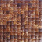 Espresso palm mosaic | Recycled coconuts | Omarno