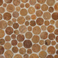 Round Dia M Crema | Natural stone mosaics | Mosaic Miro Production