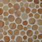 Round Dia M Yellow Sandstone | Natural stone mosaics | Mosaic Miro Production