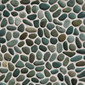Beachstone Dia S Green | Natural stone mosaics | Mosaic Miro Production
