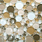 Bubbles Glass Mosaic M18 | Mosaïques verre | EVIT