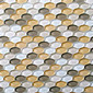 Oval Glass Mosaic M18 | Mosaïques verre | EVIT