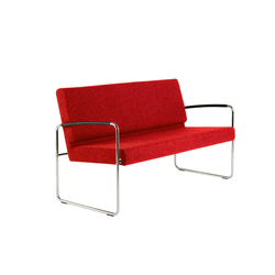 Genio Lounge 2-Seater | Waiting area benches | Dietiker
