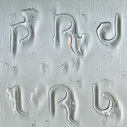 Bubble Glass Text Pattern | Vetri decorativi | padlab