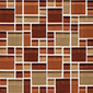 Random Pattern Clear Mixed Tanganyika | Mosaici in vetro | Original Style Limited