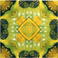 Yellow Glitz 2 | Ceramic tiles | Dominic Crinson