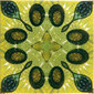 Yellow Glitz 4 | Ceramic tiles | Dominic Crinson