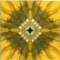 Yellow Glitz 8 | Ceramic tiles | Dominic Crinson