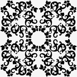 Iris 1 Nero | Ceramic tiles | Ceramica Bardelli