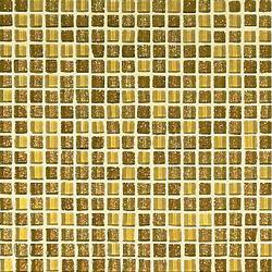 103G Oro Mix 1x1cm | Mosaïques en verre | VITREX S.r.l.