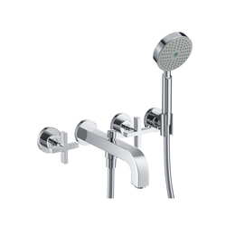 AXOR Citterio 3-Hole Bath Mixer with cross handles DN15 | Bath taps | AXOR
