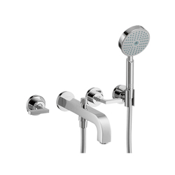 AXOR Citterio 3-Hole Bath Mixer with lever handles DN15 | Bath taps | AXOR