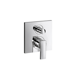 AXOR Citterio Single Lever Bath Mixer for concealed installation with integrated safety combination according to EN1717 | Bath taps | AXOR
