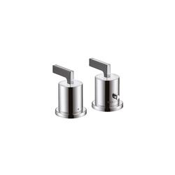AXOR Citterio Set esterno termostatico 2-fori bordo vasca, | Rubinetteria per vasche da bagno | AXOR
