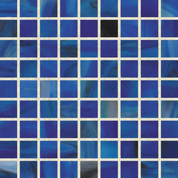 Stained Glass Mosaic M02594 | Glass mosaics | Hirsch Glass
