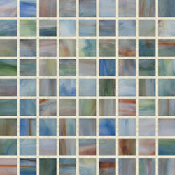 Stained Glass Mosaic M00247 | Mosaïques verre | Hirsch Glass